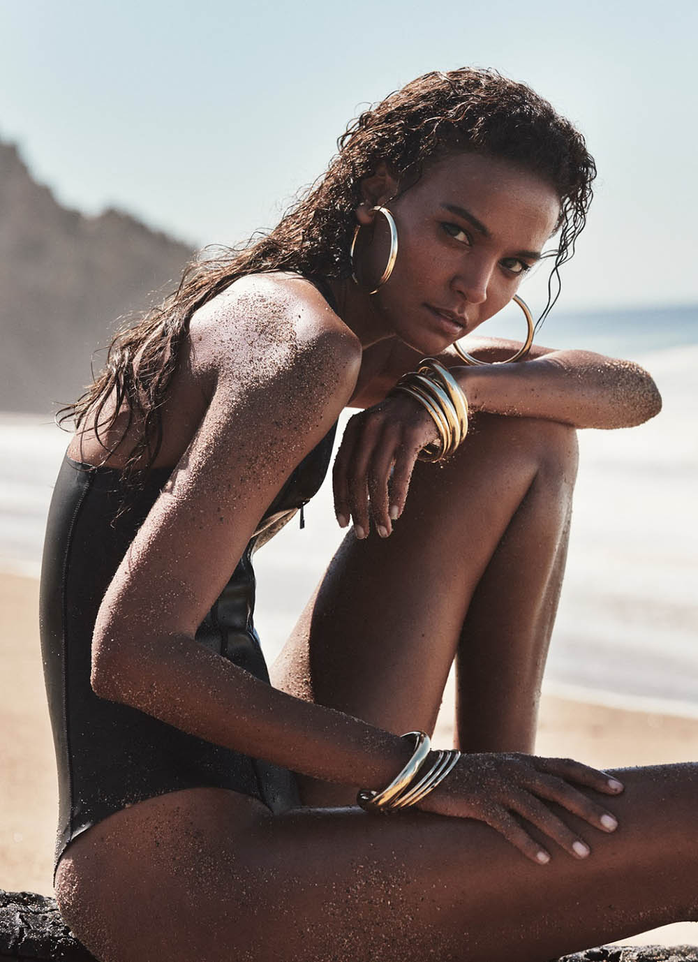 Liya Kebede covers Porter Magazine Summer Escape 2019 by Cass Bird