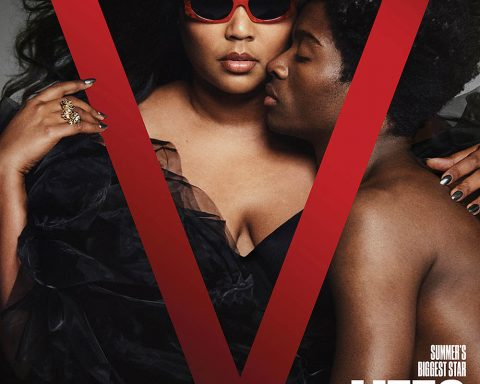 Lizzo and Alton Mason cover V Magazine Summer 2019 by Chris Colls
