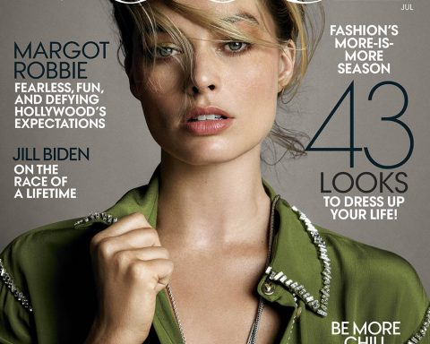 Margot Robbie covers Vogue US July 2019 by Inez and Vinoodh