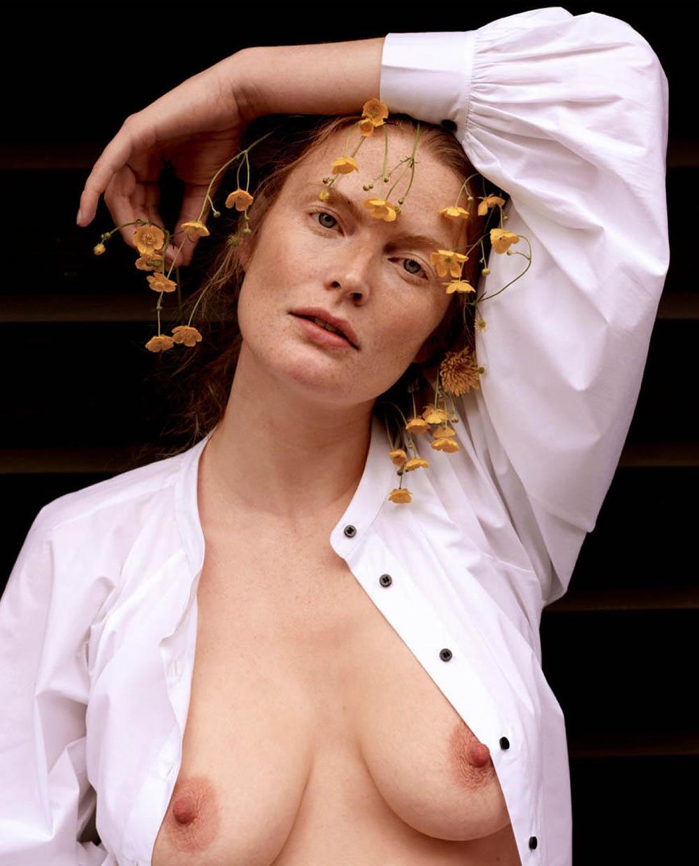 Marte Boneschansker by Paul Bellaart for Vogue Netherlands July August 2019