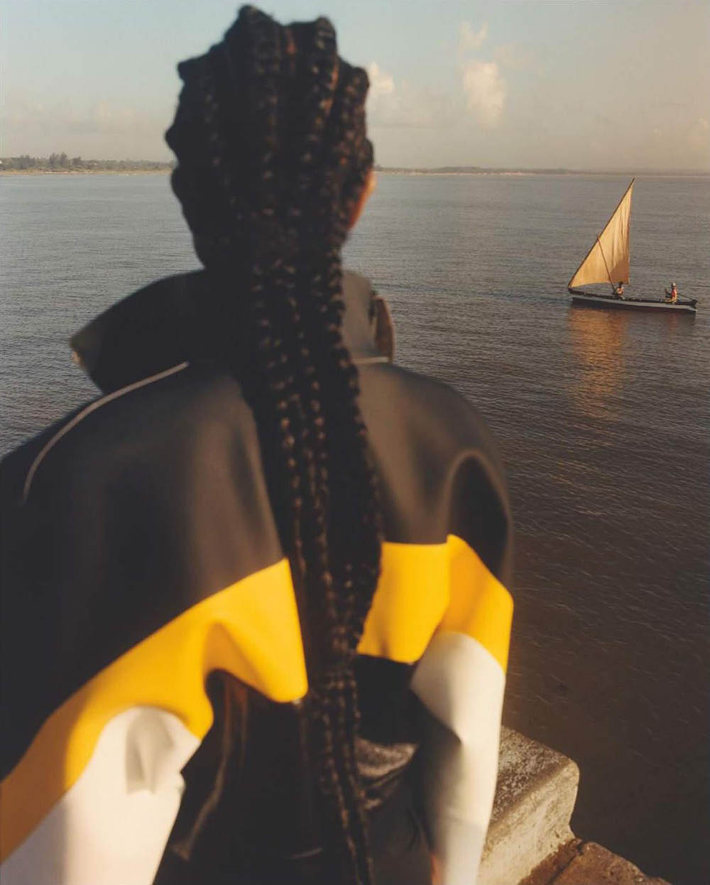 Naomi Campbell by Jamie Hawkesworth for British Vogue July 2019