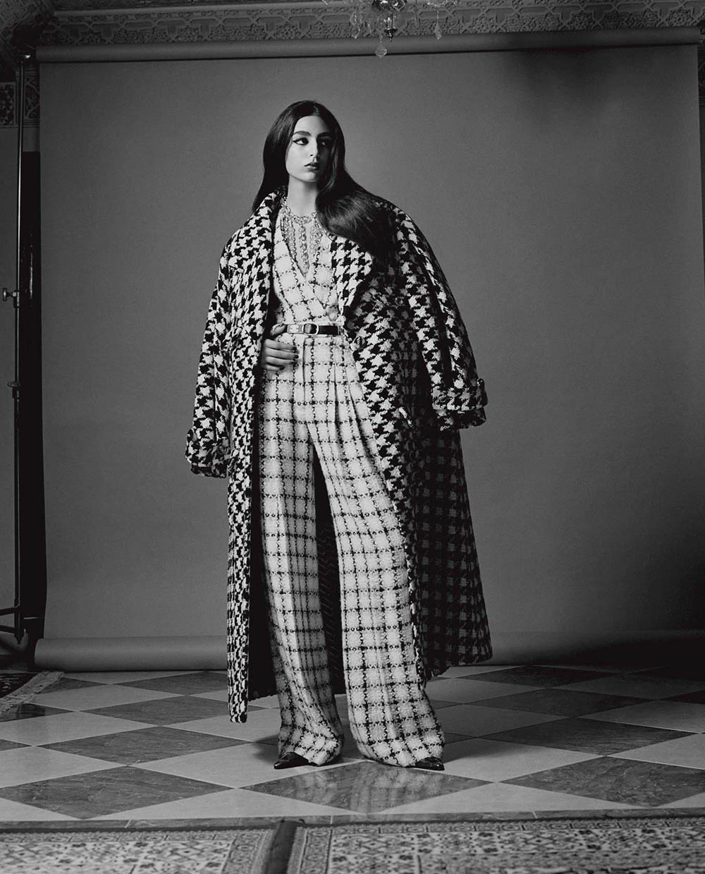 Nora Attal by Oliver Hadlee Pearch for Vogue Italia July 2019