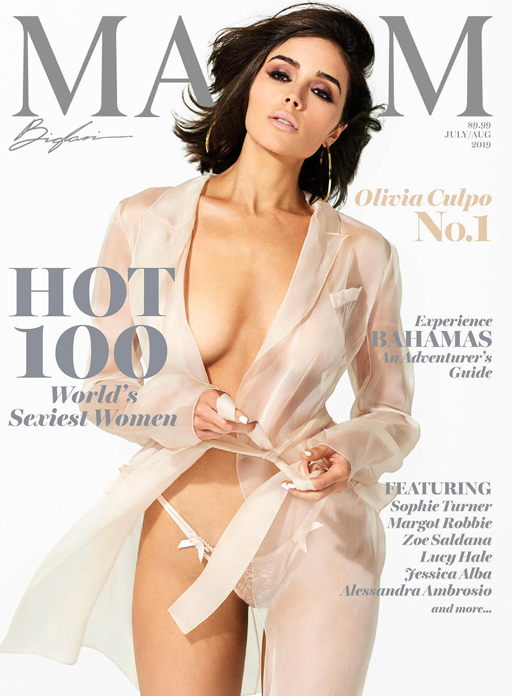 Olivia Culpo covers Maxim US July August 2019 by Gilles Bensimon