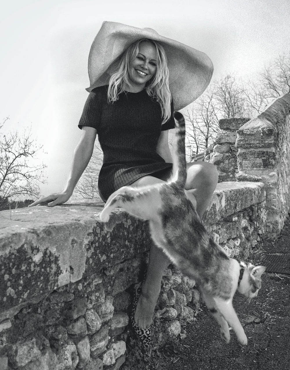 Pamela Anderson by Cedric Buchet for Porter Magazine Summer Escape 2019