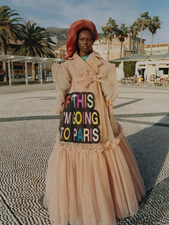 Shanelle Nyasiase covers Vogue Ukraine July 2019 by Nadine Ijewere