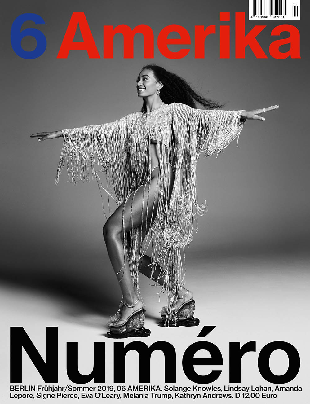 Solange Knowles covers Numéro Berlin Spring Summer 2019 by Marcus Cooper