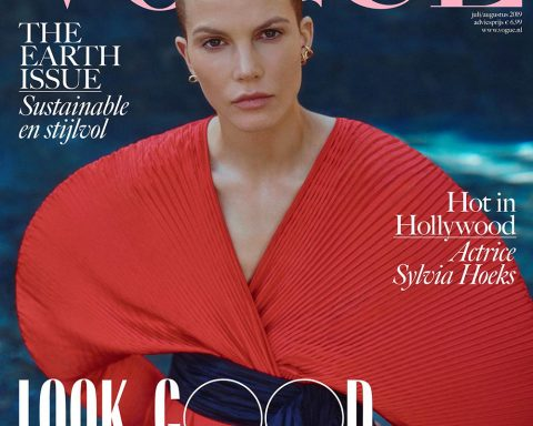 Sylvia Hoeks covers Vogue Netherlands July August 2019 by Daniel Bouquet