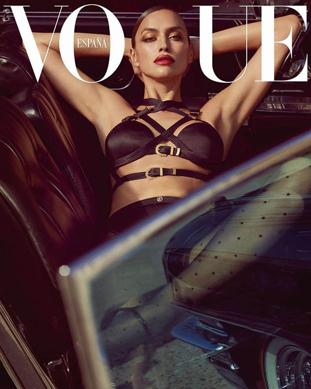 Adriana Lima and Irina Shayk cover Vogue Spain August 2019 by Luigi & Iango