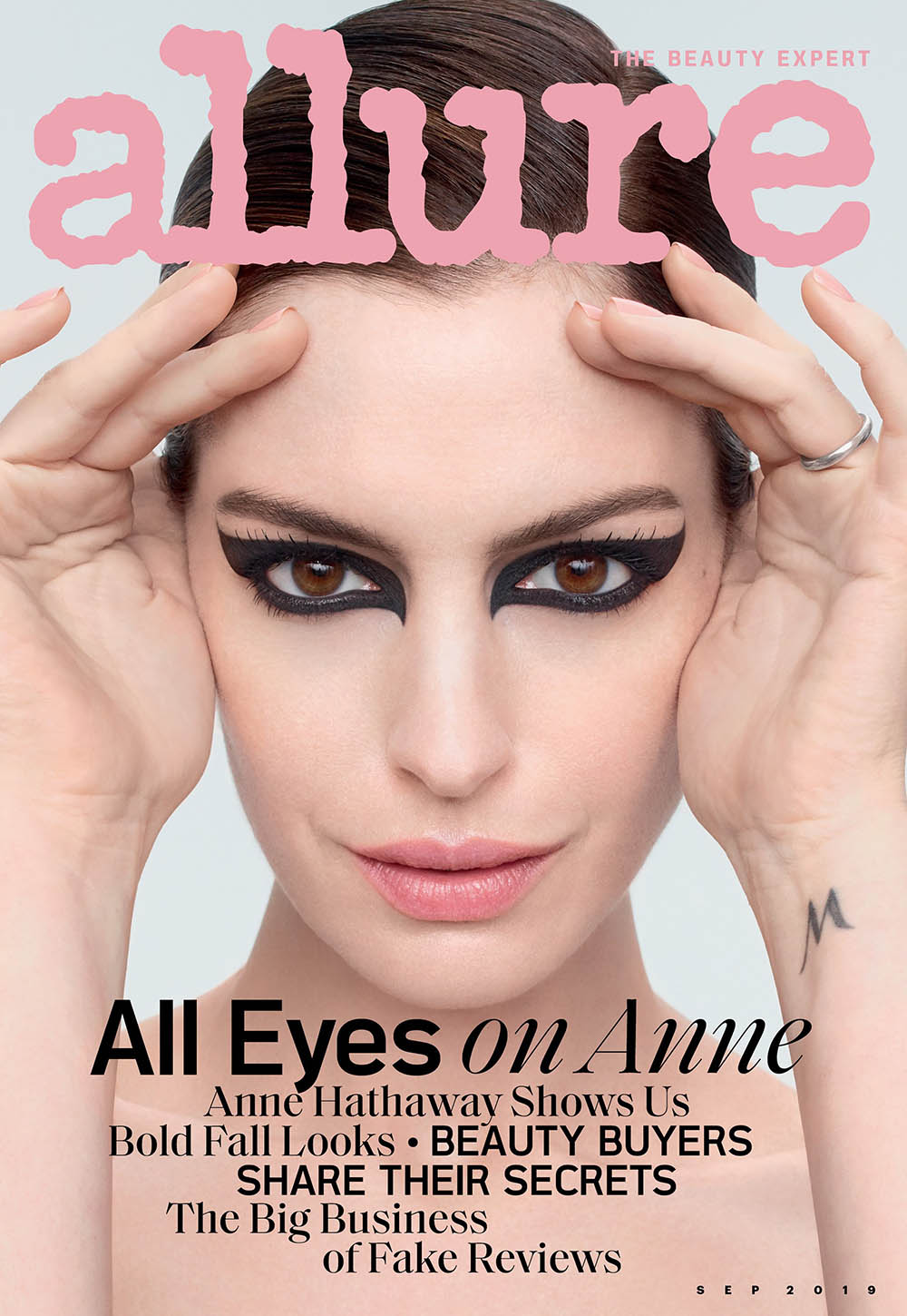 Anne Hathaway covers Allure US September 2019 by Sølve Sundsbø