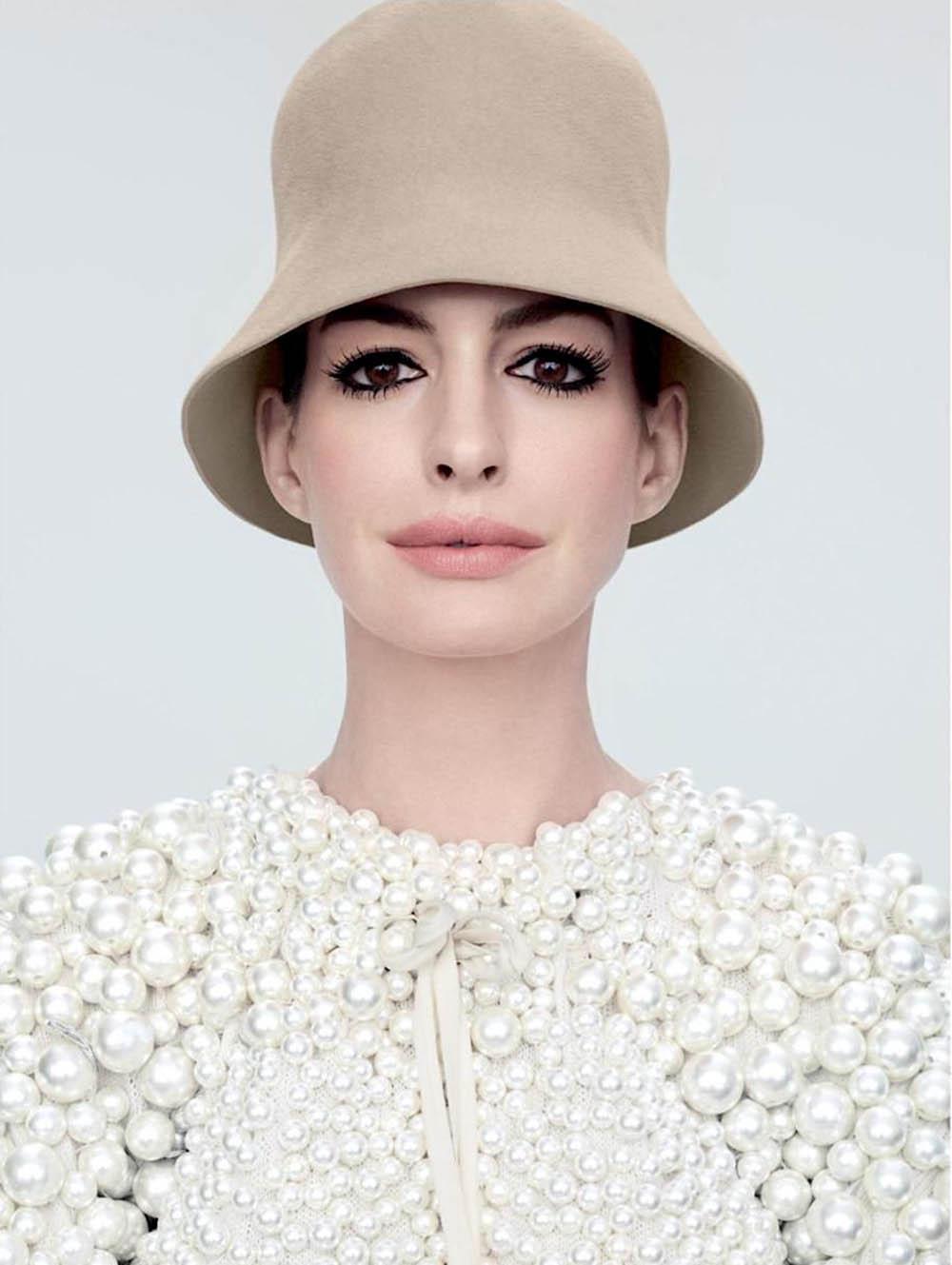 Anne Hathaway covers Allure US September 2019 by Sølve Sundsbø