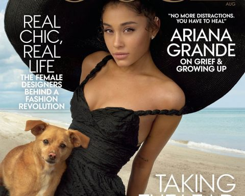 Ariana Grande covers Vogue US August 2019 by Annie Leibovitz