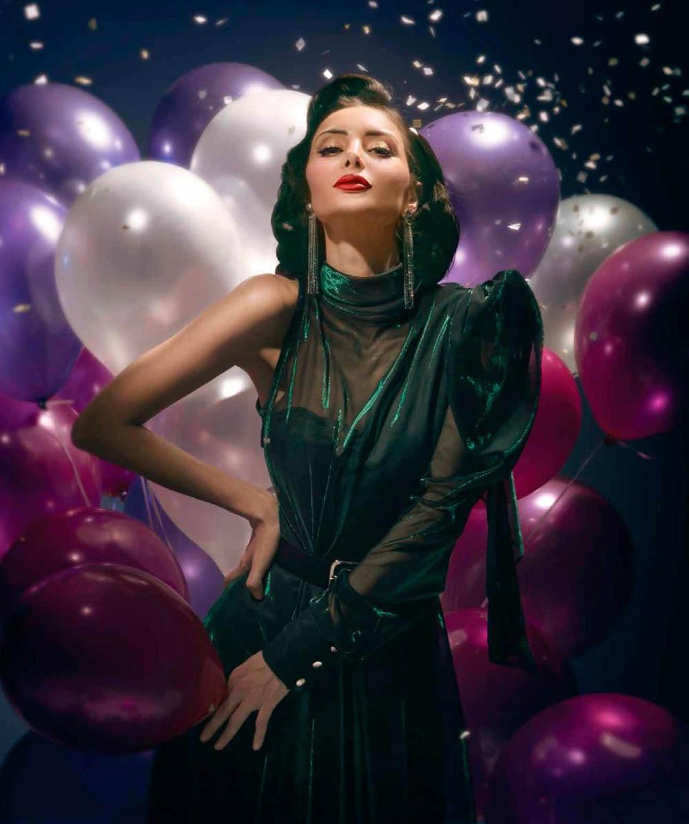 Deborah Valdez-Hung by Ivan Aguirre for Harper's Bazaar Mexico & Latin America August 2019