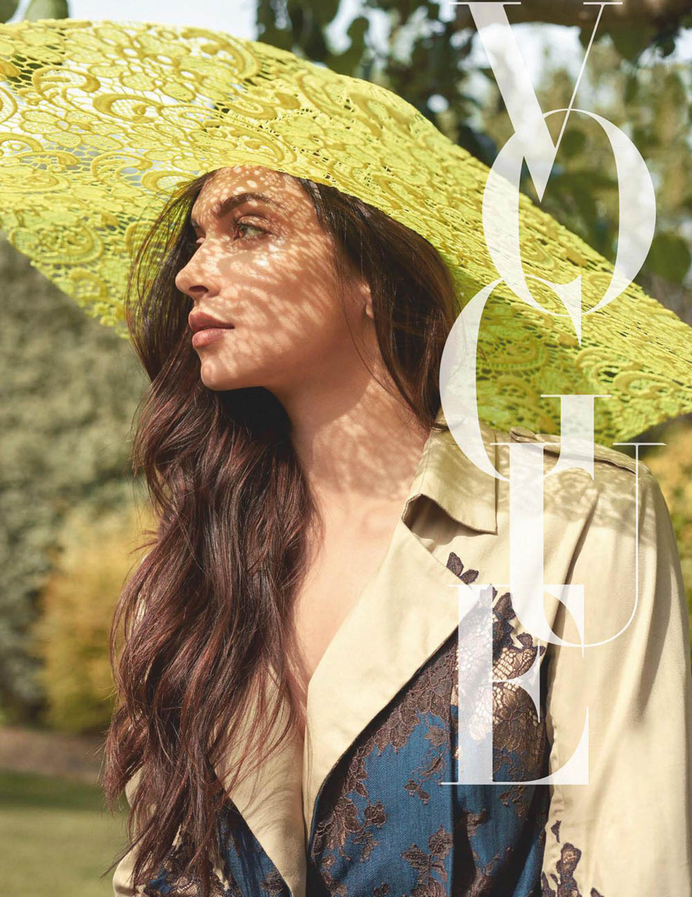 Deepika Padukone covers Vogue India August 2019 by Greg Swales