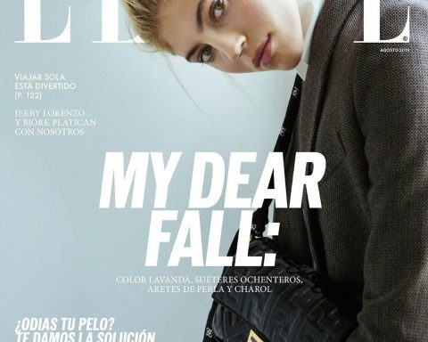 Devon Windsor covers Elle Mexico August 2019 by Santiago Ruisenor