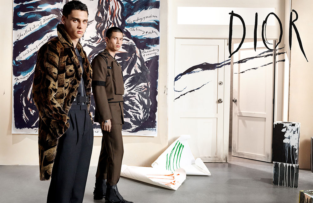 Dior Men Fall Winter 2019 Campaign