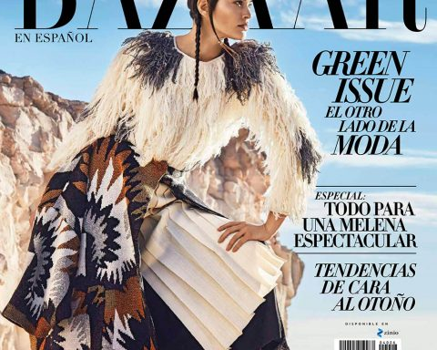Elizabeth Salt covers Harper's Bazaar Mexico & Latin America August 2019 by Enrique Vega