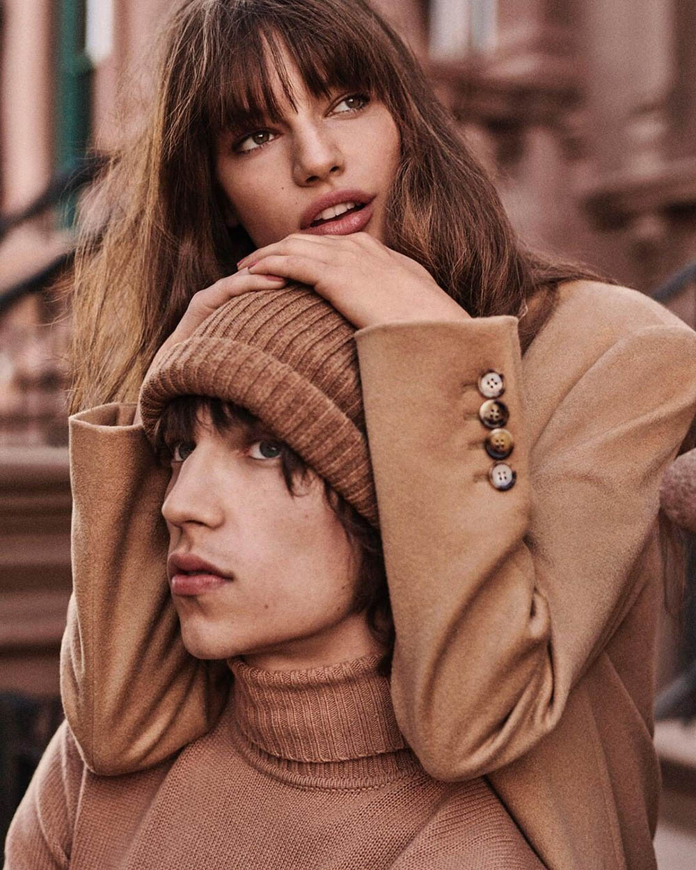 Faretta Radic and Eliseu Zimmer by Giampaolo Sgura for Vogue Japan August 2019