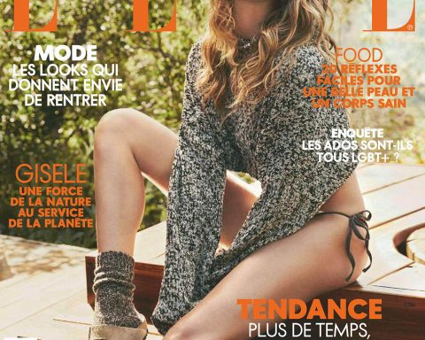 Gisele Bündchen covers Elle France August 9th, 2019 by Nino Munoz