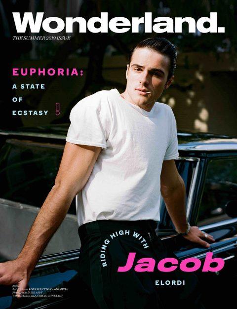 Jacob Elordi covers Wonderland Magazine Summer 2019 by Luke Abby