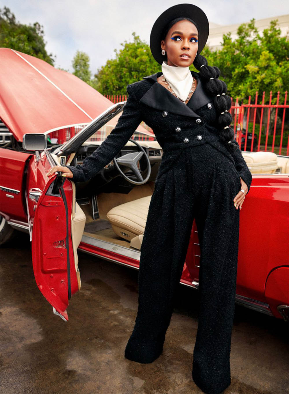 Janelle Monáe covers InStyle US August 2019 by Pamela Hanson