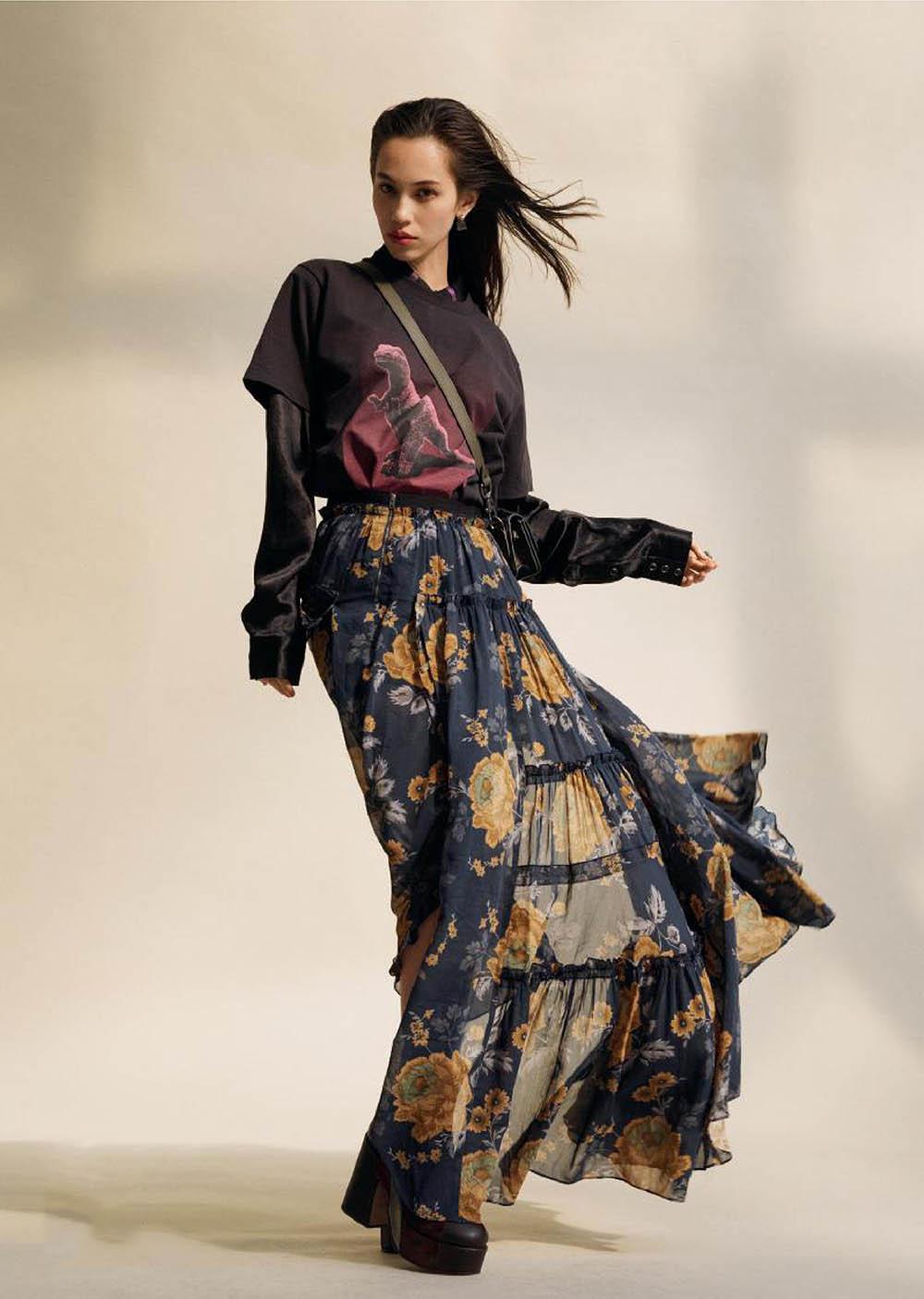 Kiko Mizuhara covers L'Officiel Paris August 2019 by Jens Langkjaer