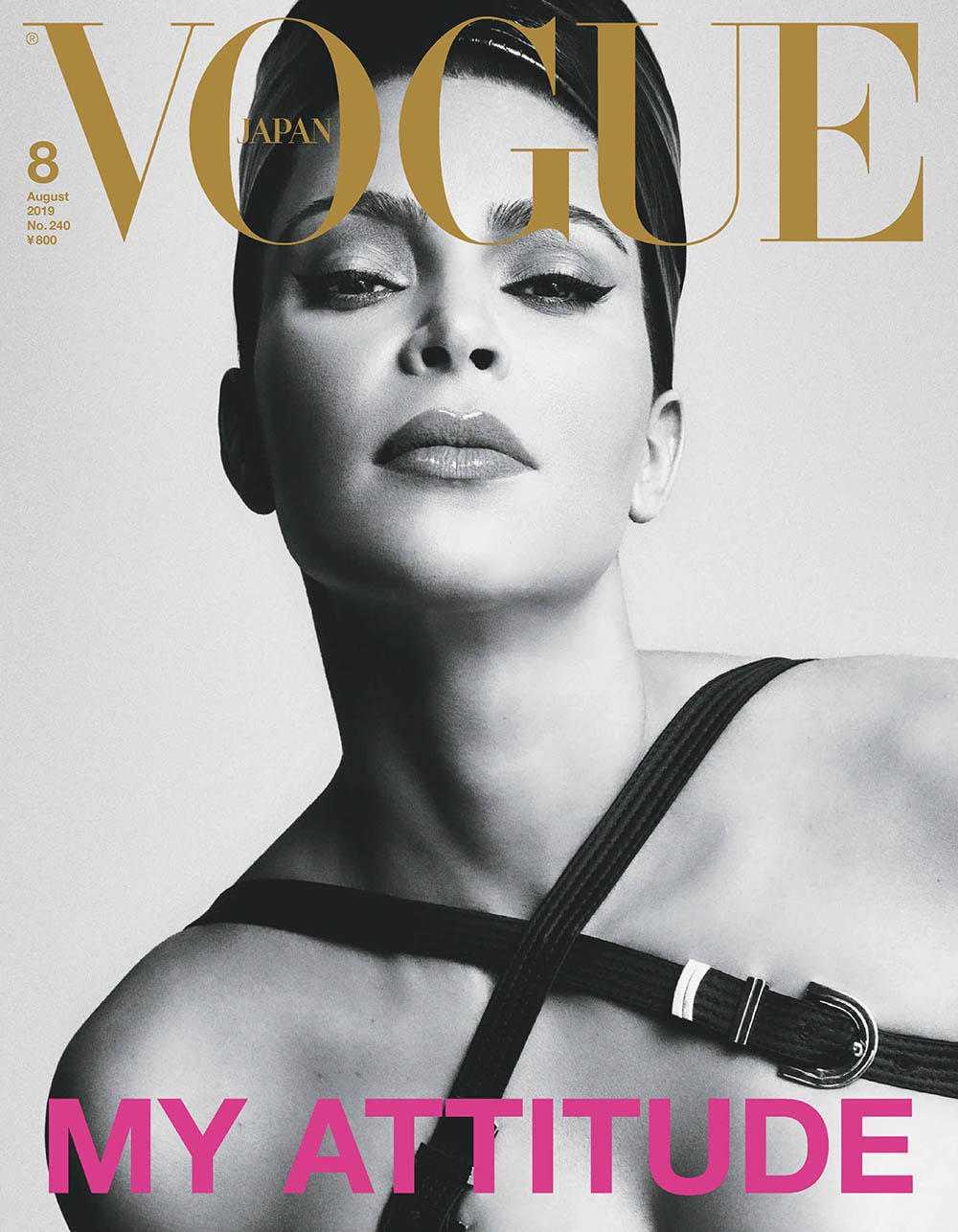 Kim Kardashian West covers Vogue Japan August 2019 by Luigi & Iango