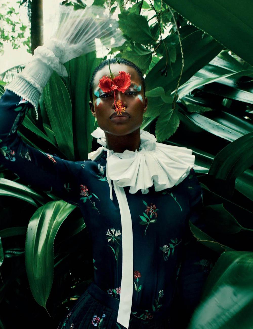 Mayowa Nicholas by Txema Yeste for Vogue Spain August 2019