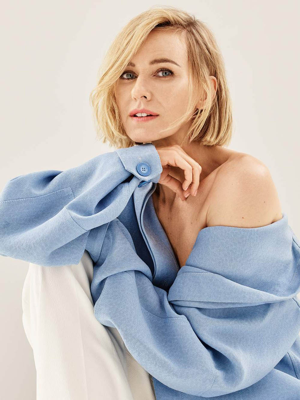 Naomi Watts covers Porter Edit August 2nd, 2019 by Jason Kibbler