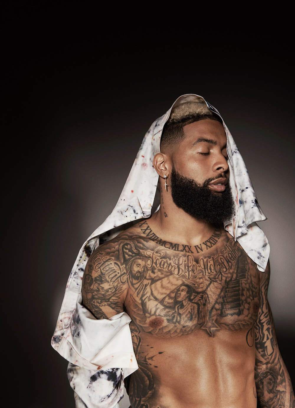 Odell Beckham Jr. covers GQ USA August 2019 by Paola Kudacki