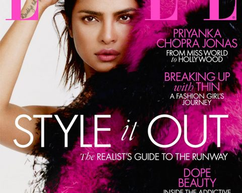 Priyanka Chopra covers Elle UK August 2019 by Marcin Kempski