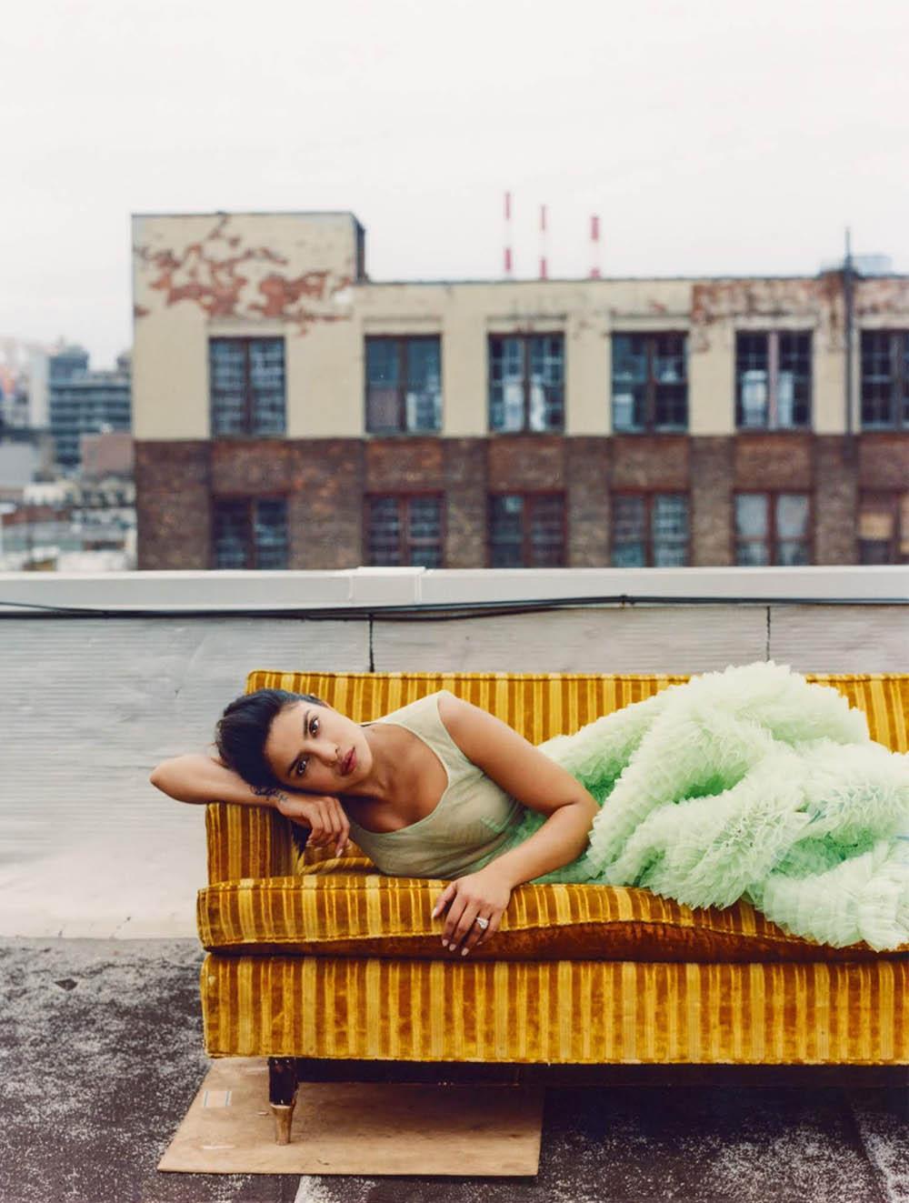 Priyanka Chopra covers Elle UK August 2019 by Marcin Kempski