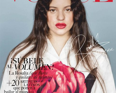 Rosalía covers Vogue Mexico & Latin America August 2019 by Stefan Ruiz