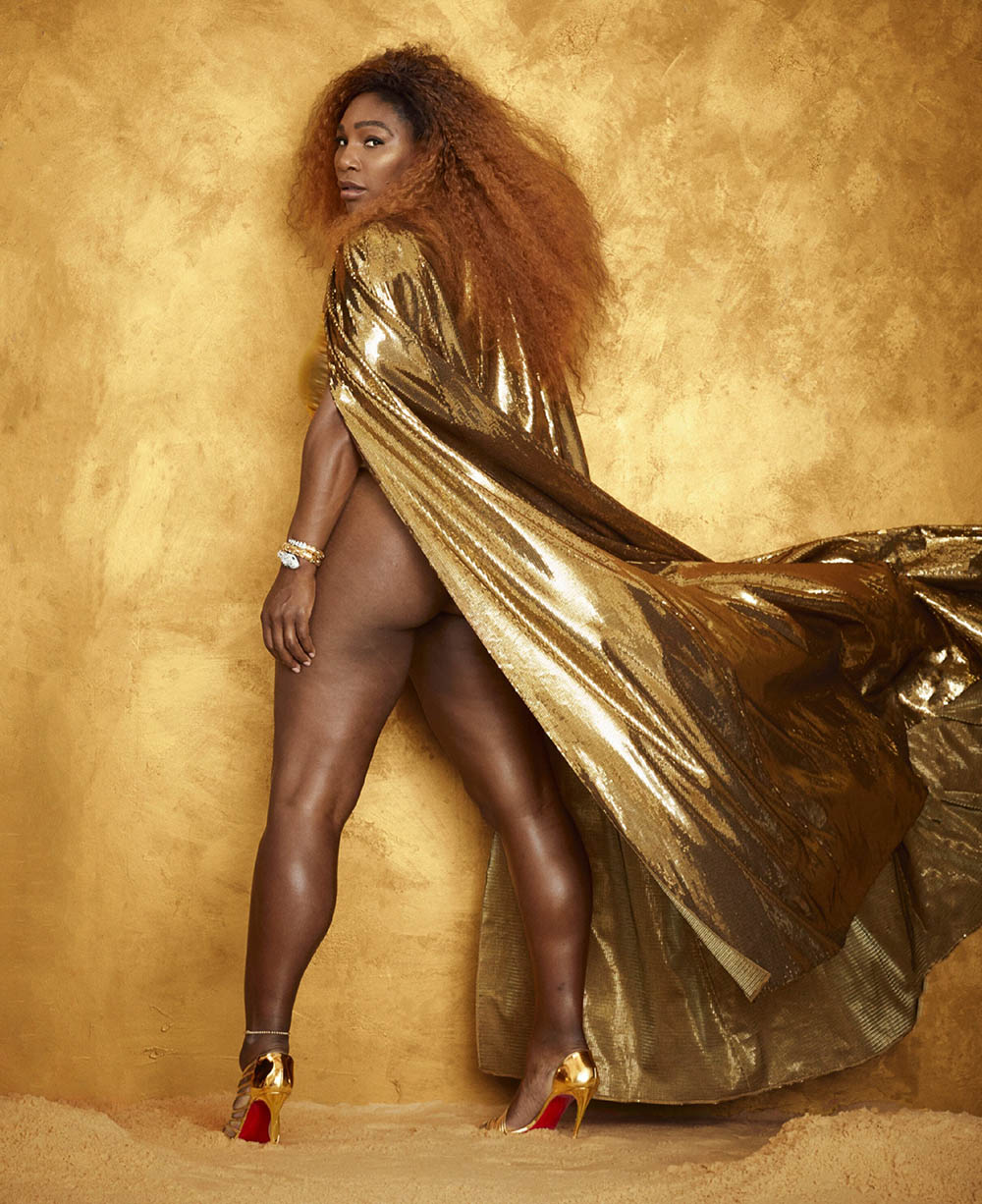 Serena Williams covers Harper's Bazaar US August 2019 by Alexi Lubomirski