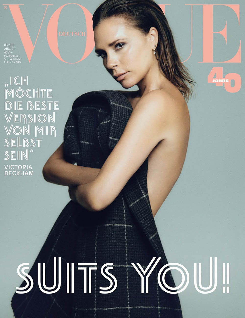 Victoria Beckham covers Vogue Germany August 2019 by Chris Colls