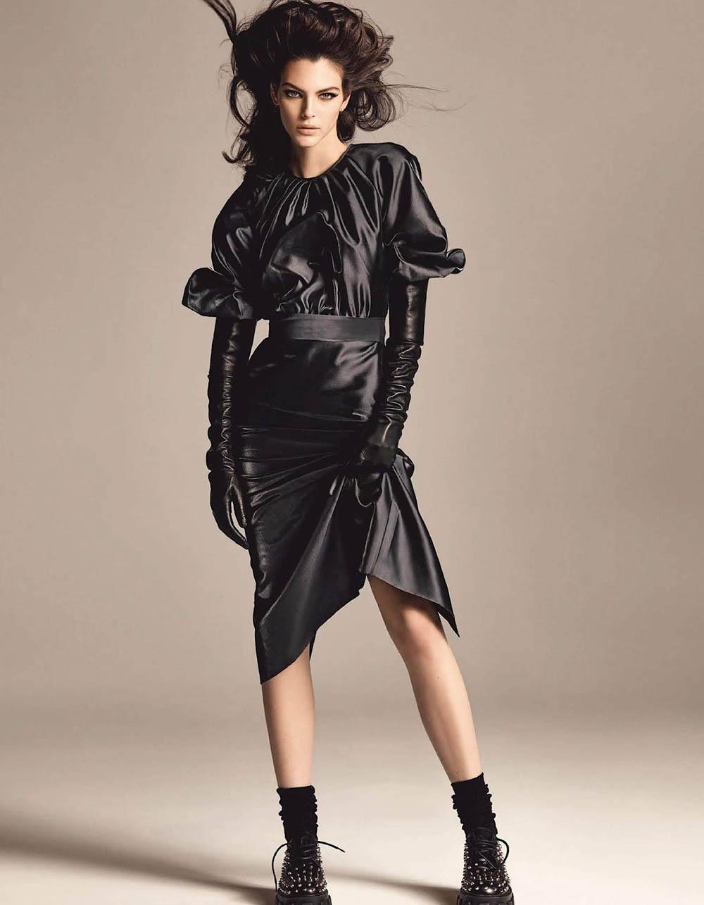 Vittoria Ceretti covers Vogue Japan August 2019 by Luigi & Iango