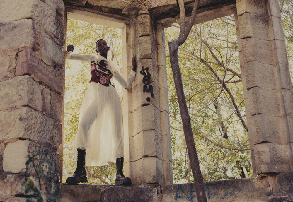 Adut Akech covers Vogue Australia September 2019 Digital Edition by Andrew Nuding