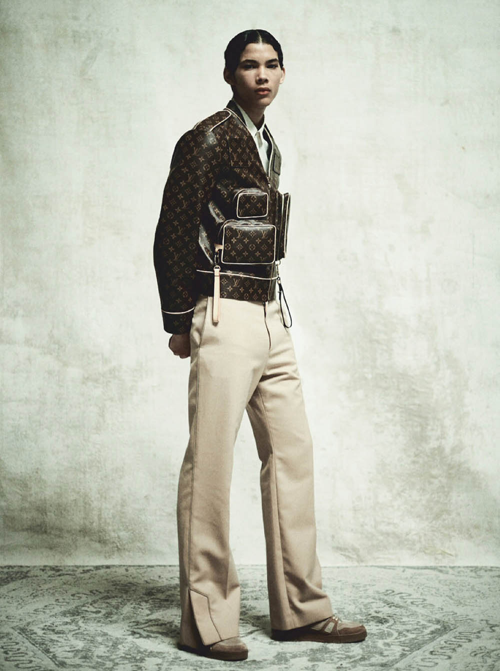 Akeem Osborne and Chen Sheng by Oliver Yoan for Attitude Magazine September 2019