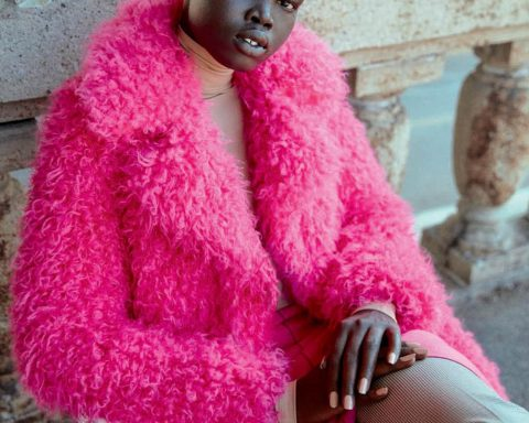 Alakiir Akoi and Kristin Zakala by D. Picard for Elle Canada September 2019