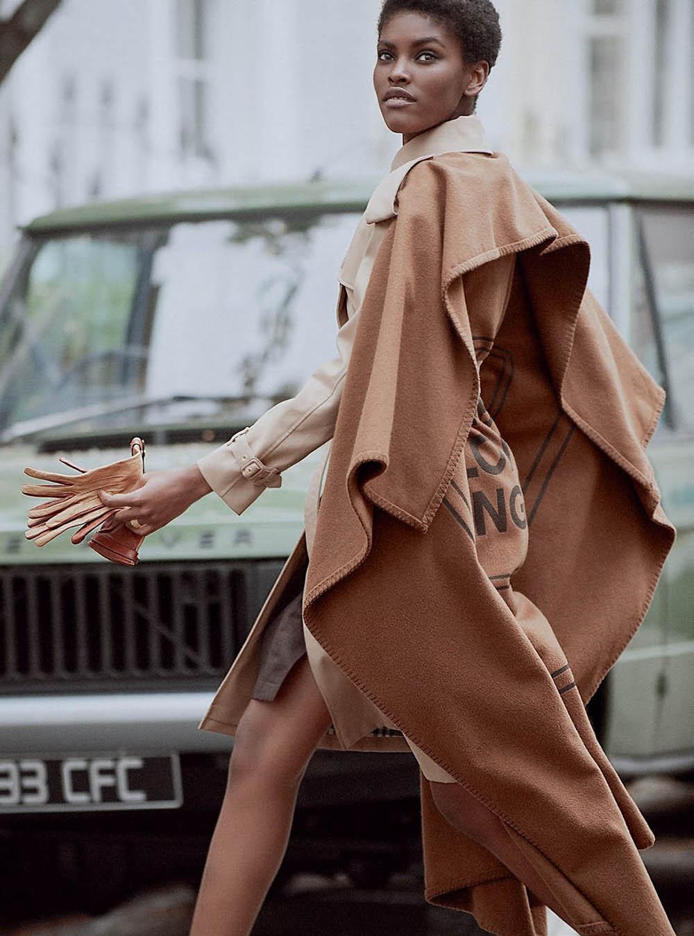 Amilna Estêvão by Regan Cameron for Harper's Bazaar UK September 2019