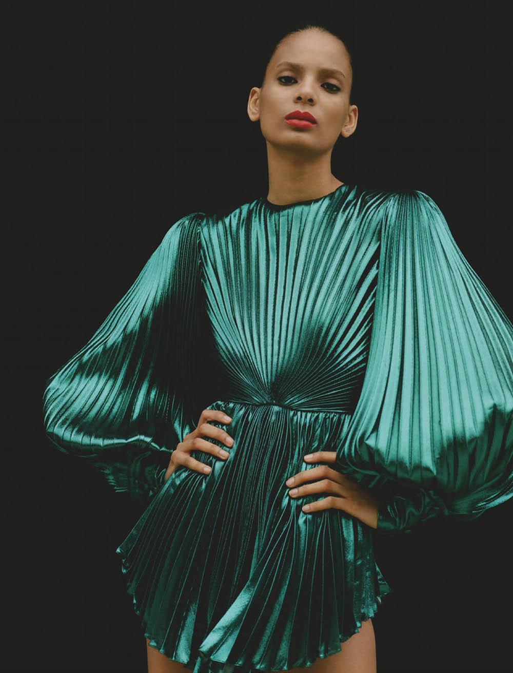 Annibelis Baez by Jeff Henrikson for Vogue Mexico September 2019