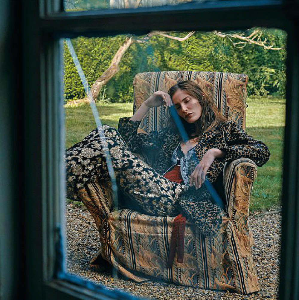 Annie Tice by Paul McLean for Amica Magazine September 2019
