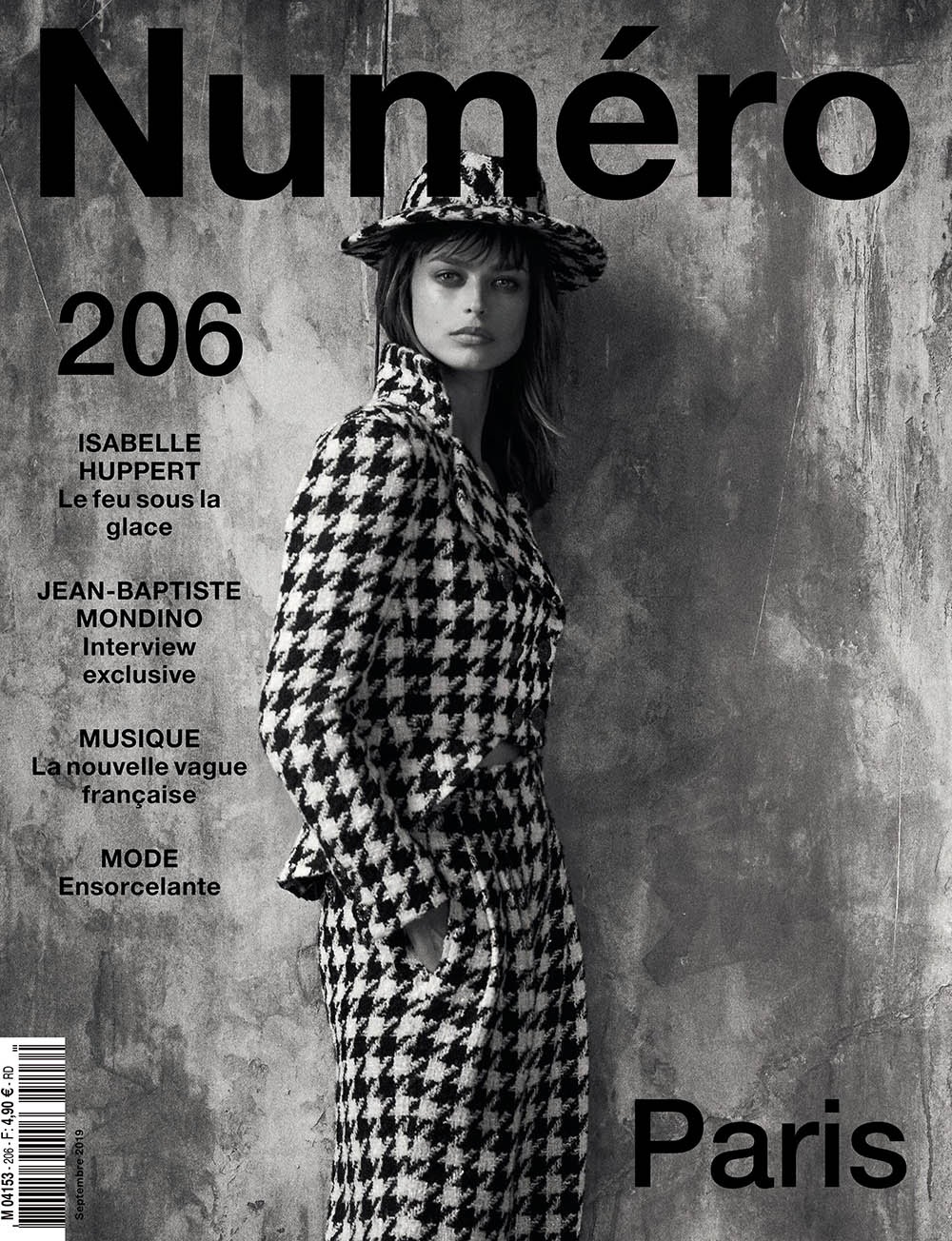 Birgit Kos covers Numéro September 2019 by Peter Lindbergh