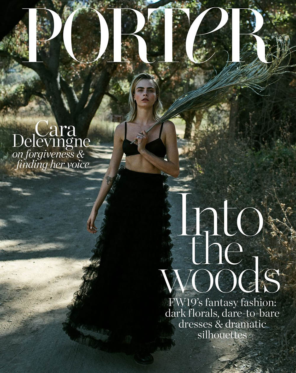 Cara Delevingne covers Porter Edit September 13th, 2019 by Sonia Szóstak