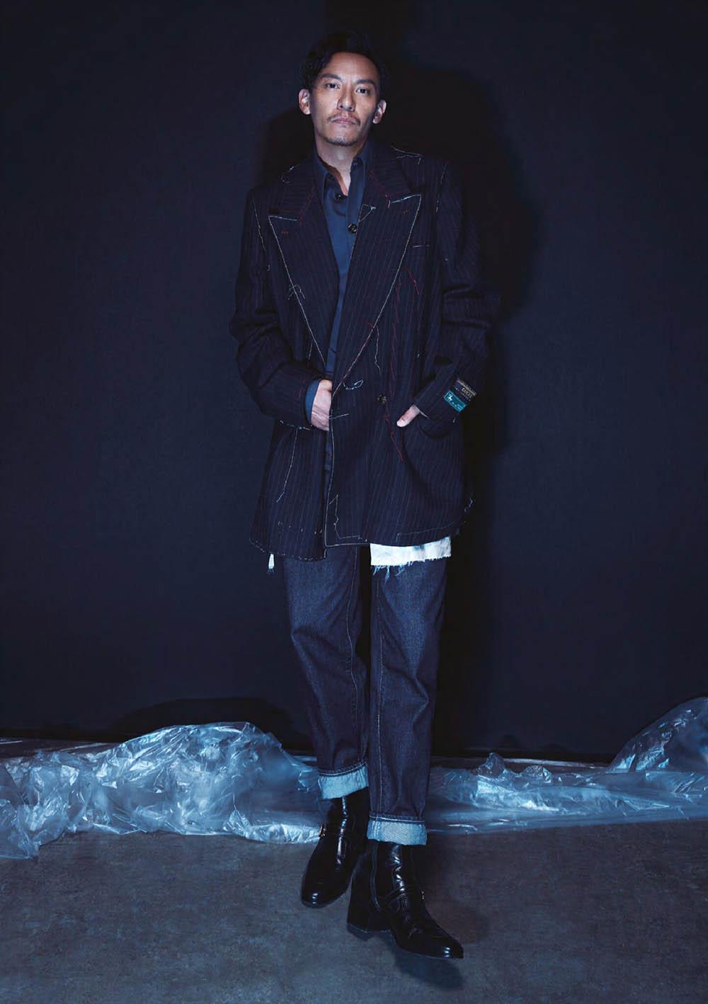 Chang Chen covers Men's Uno Hong Kong September 2019 by Icura Chiang