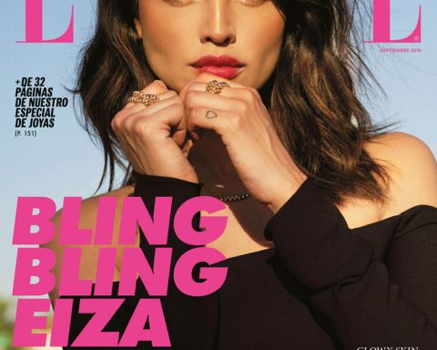 Eiza González covers Elle Mexico September 2019 by Remember When We Were Young