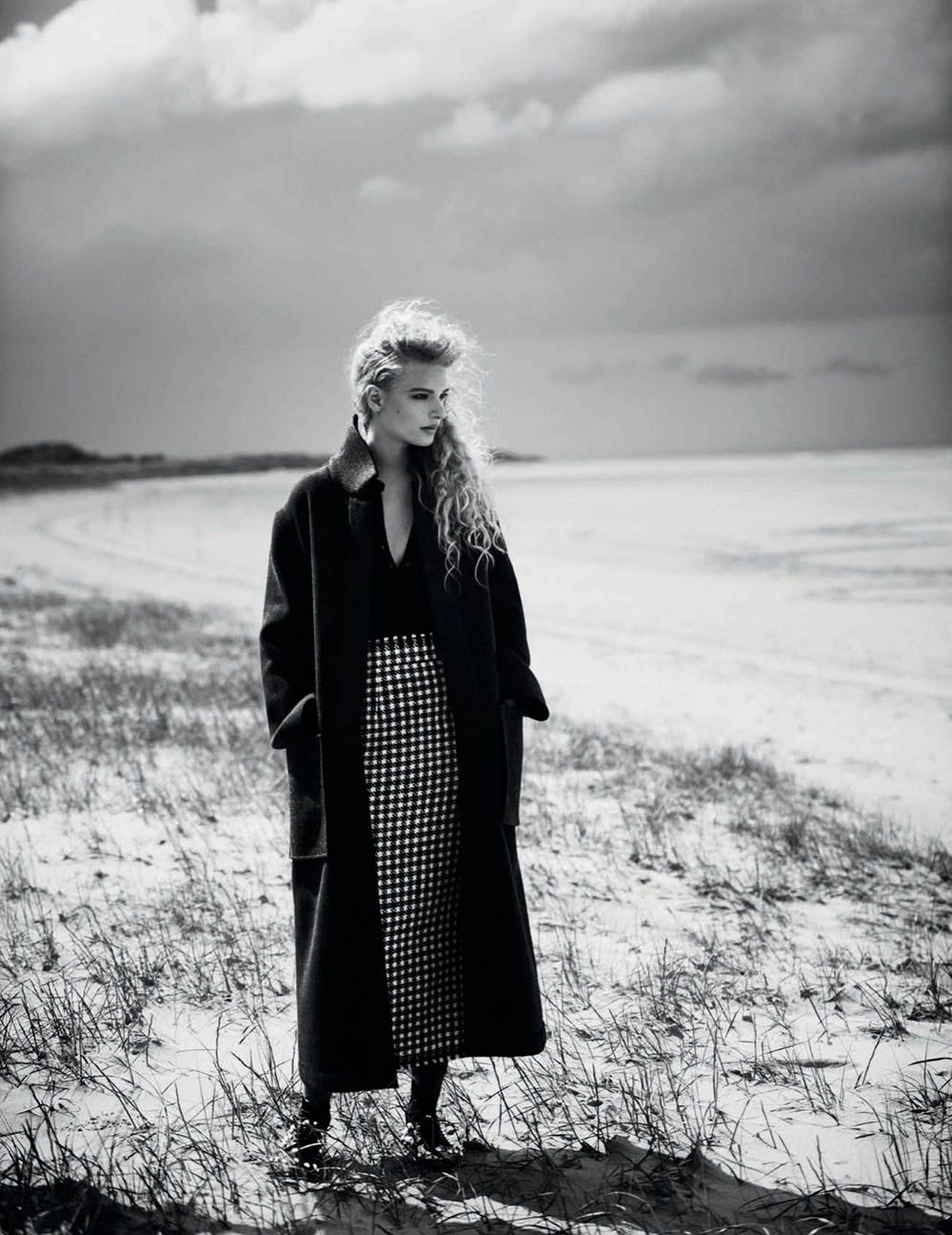 Frederikke Sofie by Boo George for Vogue Spain September 2019