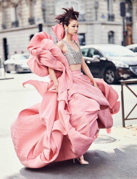 HoYeon Jung by Marc de Groot for Vogue Hong Kong September 2019
