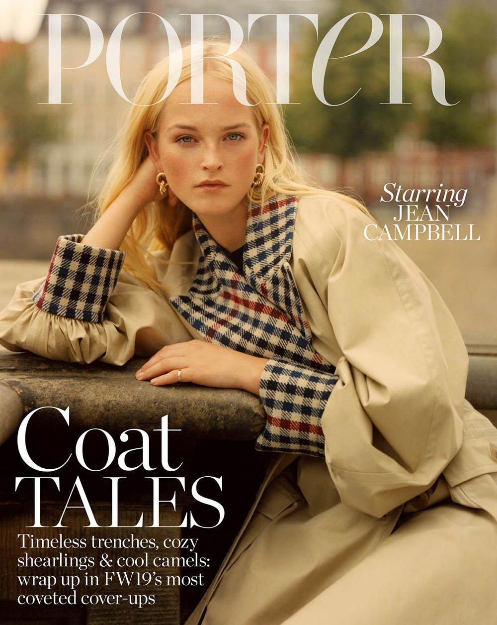 Jean Campbell covers Porter Edit September 27th, 2019 by Quentin De Briey