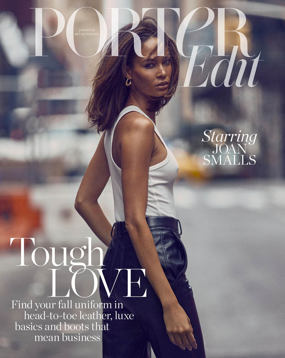 Joan Smalls covers Porter Edit September 6th, 2019 by Billy Kidd
