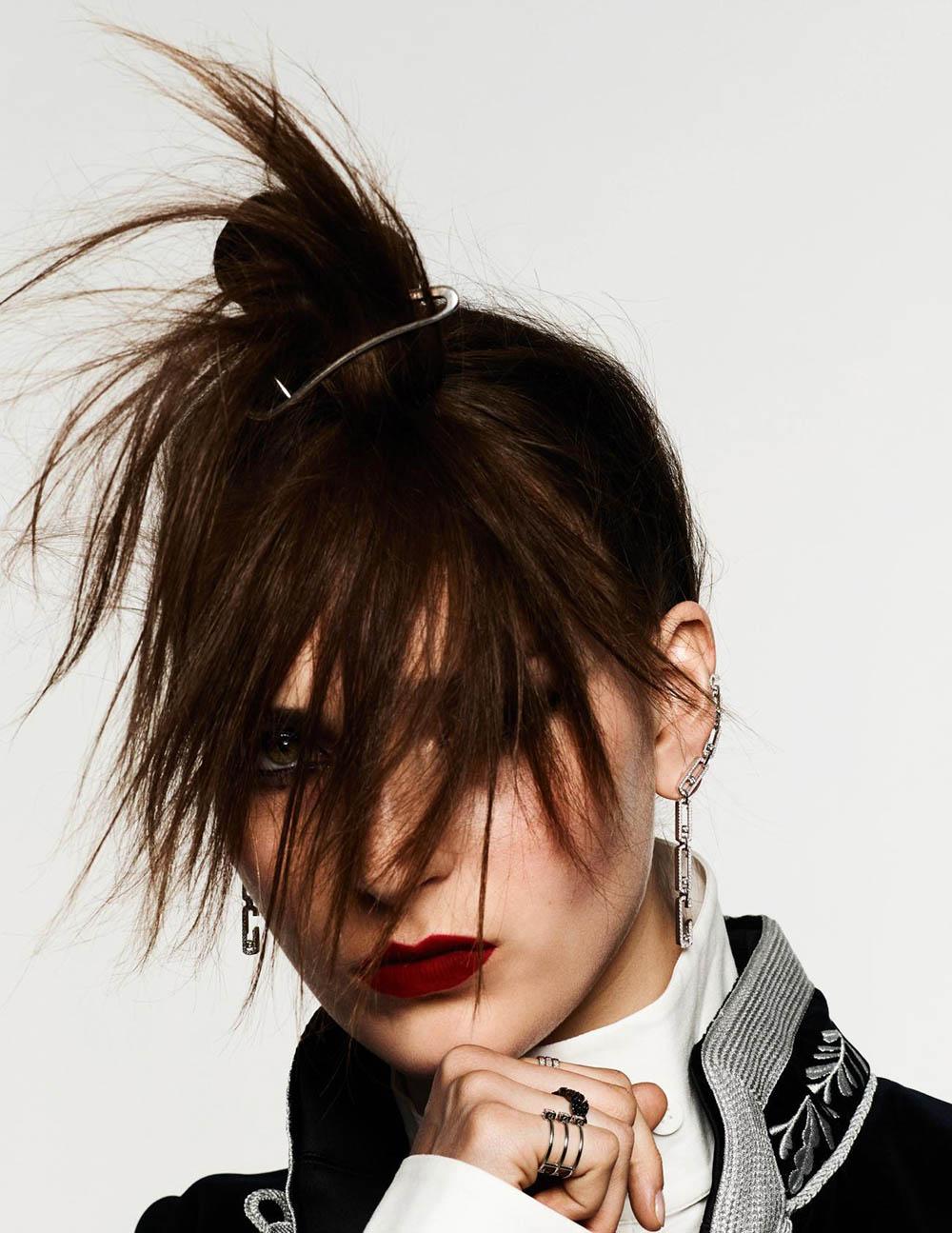 Julia Bergshoeff by Ben Hassett for Vogue Paris September 2019